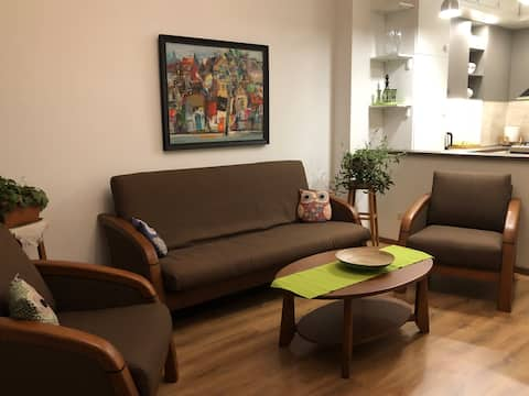 Apartment in Green District, MetraPark