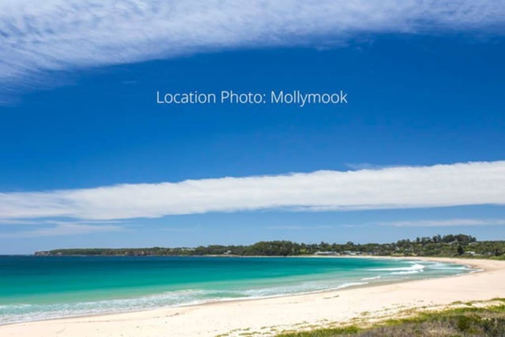 South end of Mollymook beach is patrolled during the holidays