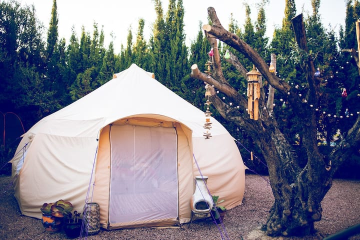 Bell Tent Glamping Busot Alicante