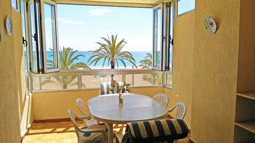 Beautiful apartment beach front location WIFI - Alacant - Apartment