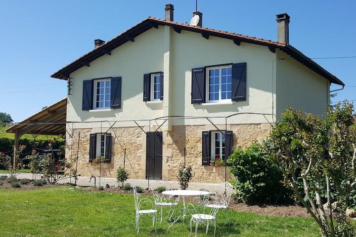 Beautiful countryside house in Bergerac