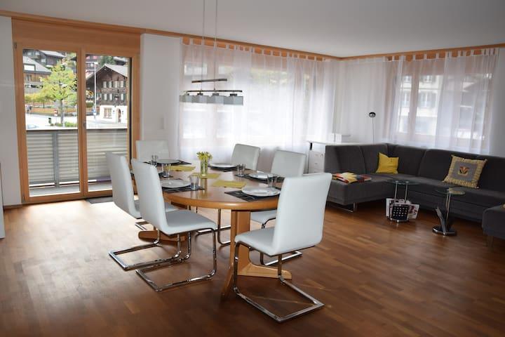 4.5 Wohnung im Herzen Zweisimmens - Zweisimmen - 公寓