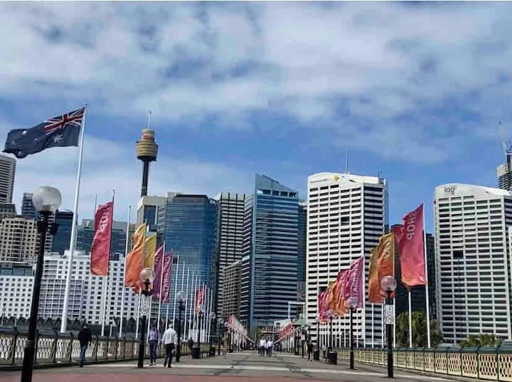Large ensuite BR in City -Pyrmont, Darling Harbour