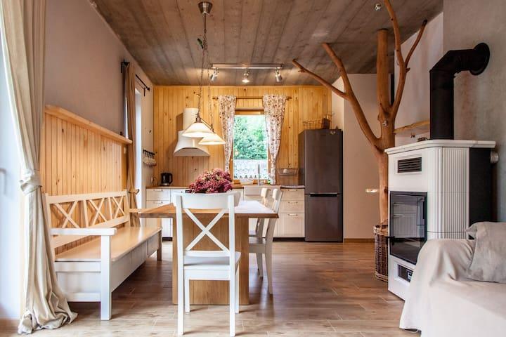 Apartament Turon - nad górskim potokiem - wadowicki - Apartamento