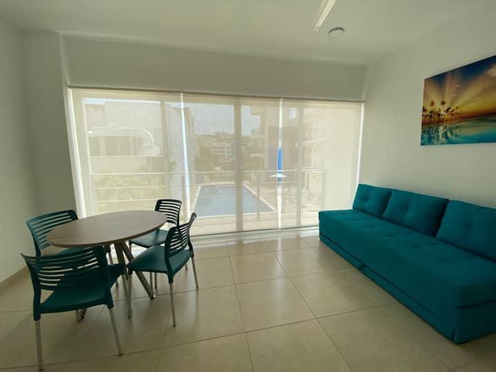 Hermosa suite a solo unos pasos de la playa!