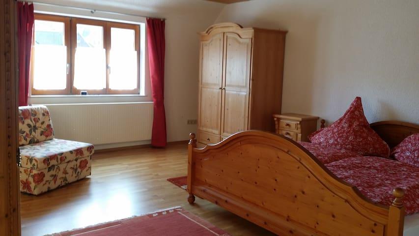 Großzügige Ferienwohnung frisch renoviert 4-6 Pers - Baiersbronn - Pis