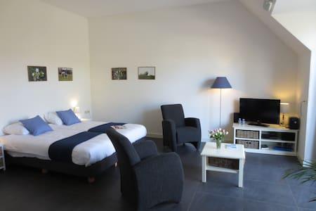 Sfeervol modern appartement in Friese Boerderij - Mantgum - Appartement