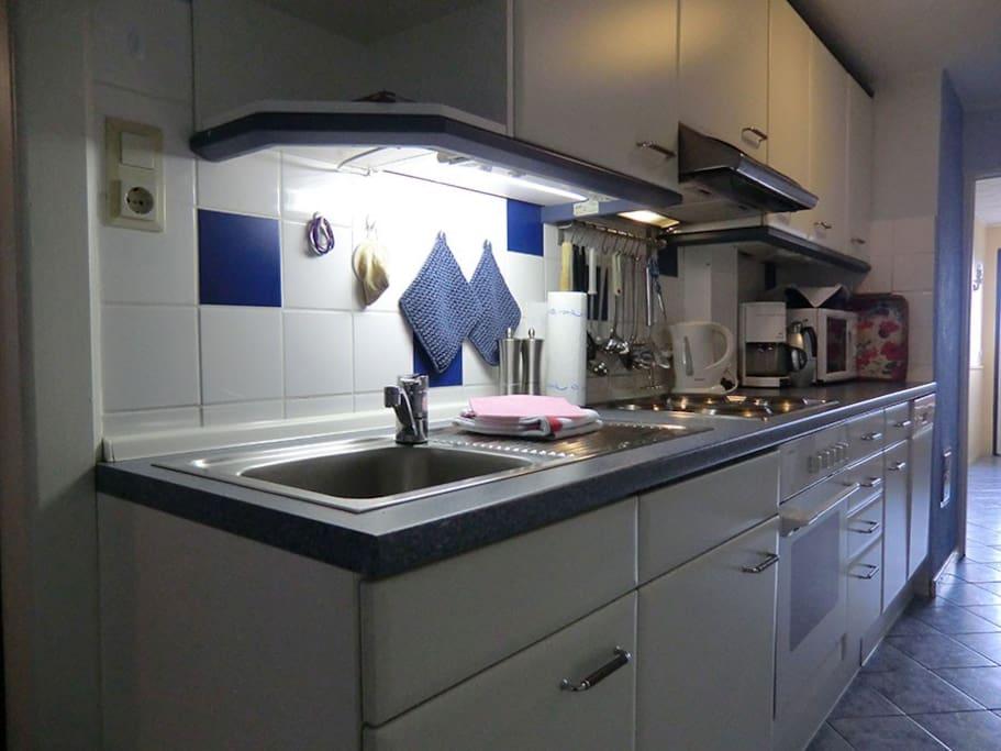 Küche Erdgeschoss/Flur