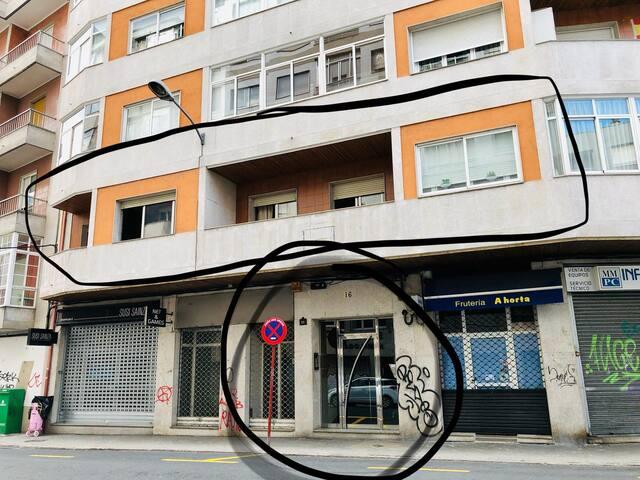 Piso centro Ourense