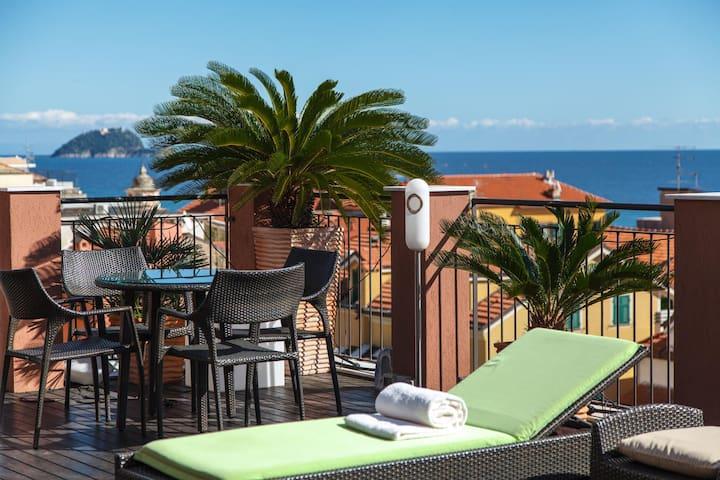 Hotel Rosa benessere e spa - Alassio - Bed & Breakfast