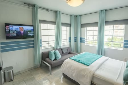 "Studio ""F"" 2 min to Beach &Ocean Dr - Miami Beach - Condominium"