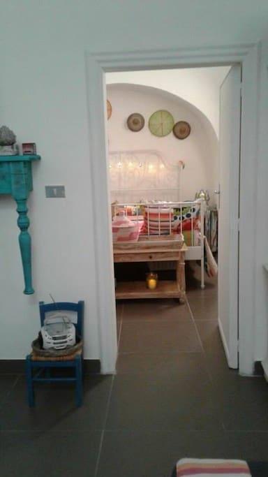 camera letto matrimoniale