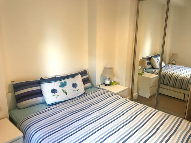 Luxury King Sized bed + private full bath in Cork