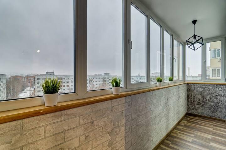 Совершенно новые апартаменты с видом на центр