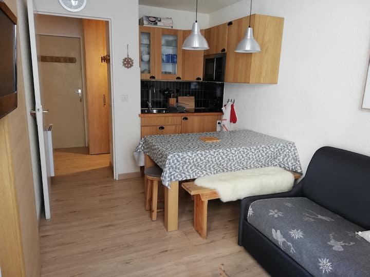 Joli appartement bien situé à Puy Saint Vincent