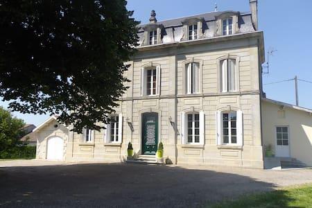 Belle Maison du 19ème siècle. chambres d'hôtes - Saint-Martial-de-Mirambeau - Domek gościnny
