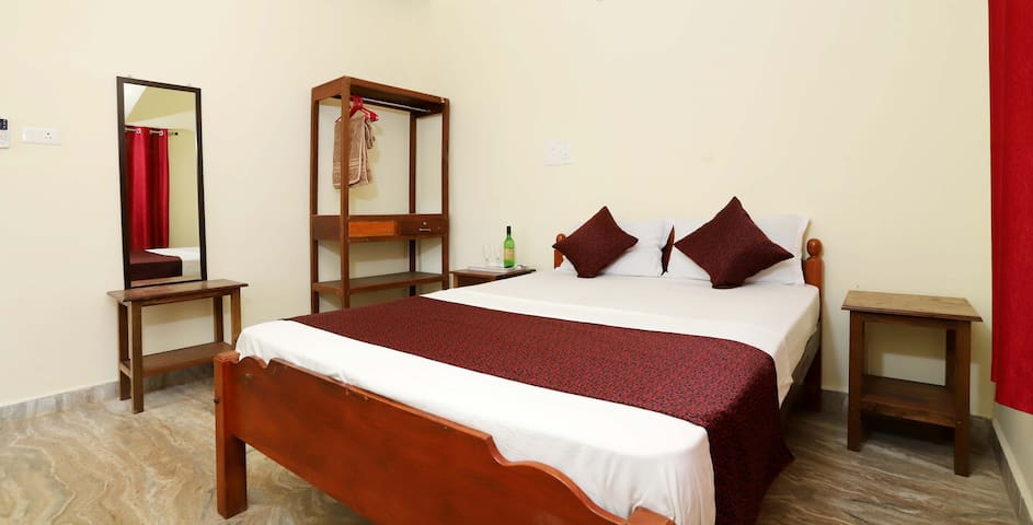 Cozy 1BHK Beach Apartment at Morjim beach Goa