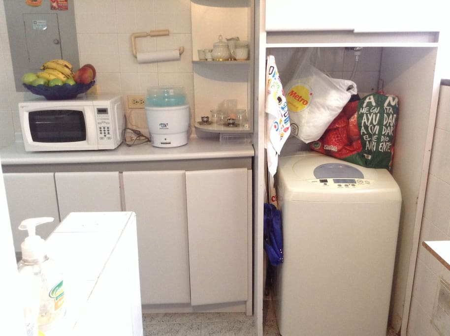 Area de Lavado /Laundry