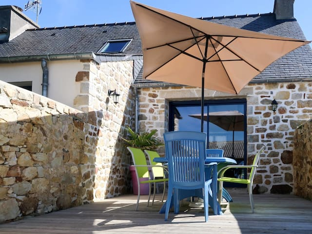 80m² holiday house for 4 persons in Crozon