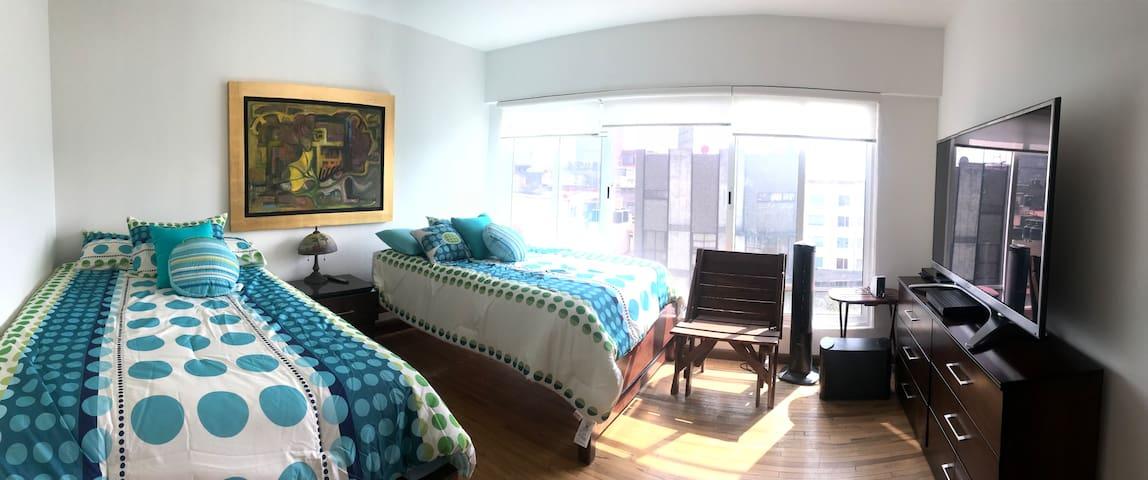 Excelente habitación para 4 personas.