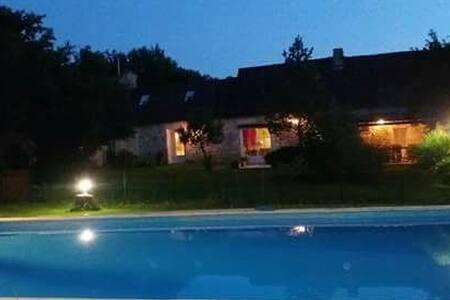 Magnifique villa et piscine privée - Monmadalès