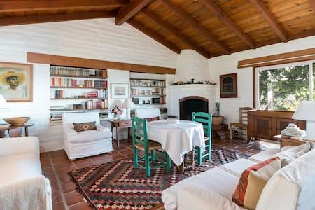 Rancho Mesa Escondida Adobe House - Carpinteria