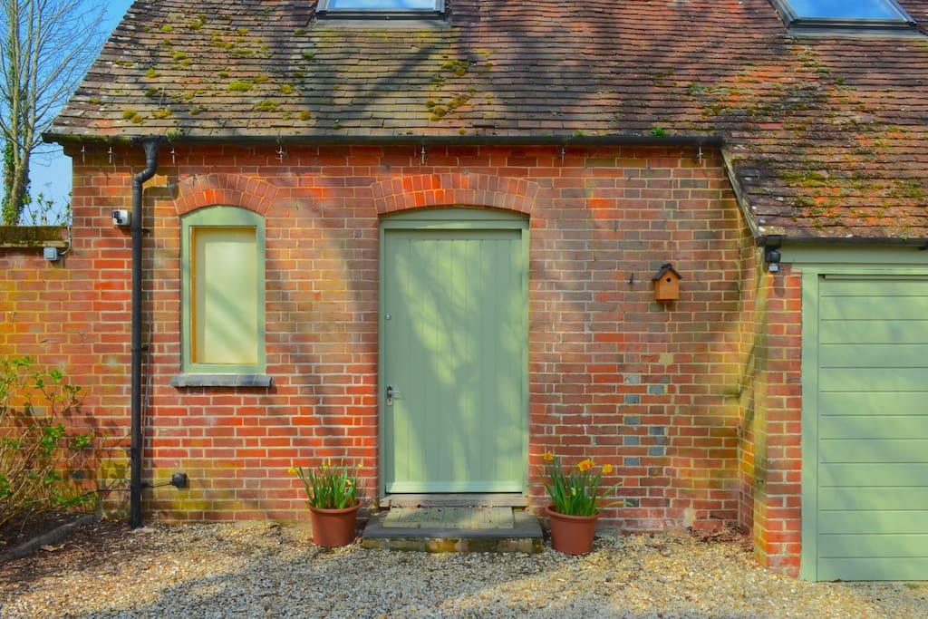 Eastfield Houde Studio Loft - front door