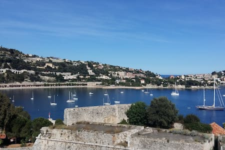 Tranquil and Unique apartment in Villefranche - Villefranche-sur-Mer
