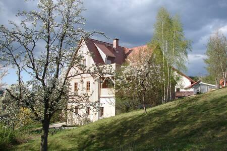 Ruhige, kleine Wohnung im Elbsandsteingebirge (A)