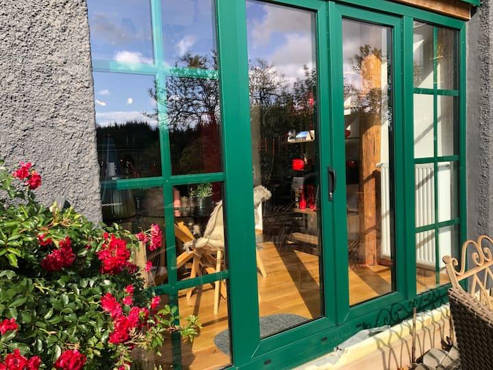 Heides grüne Hütte/Scheune außergewöhnlich schön