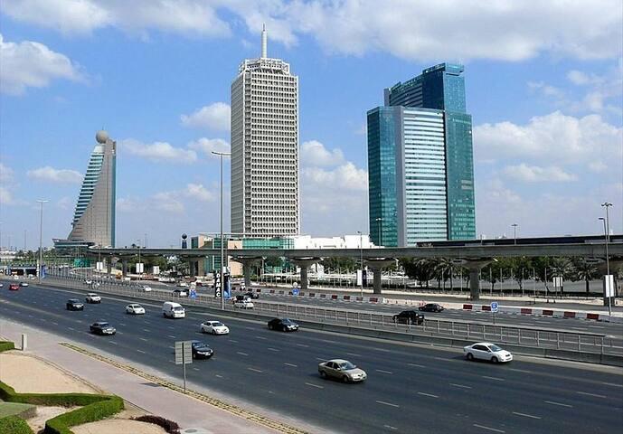 CLASSY 2BR WITH BALCONY, NEAR WTC DUBAI
