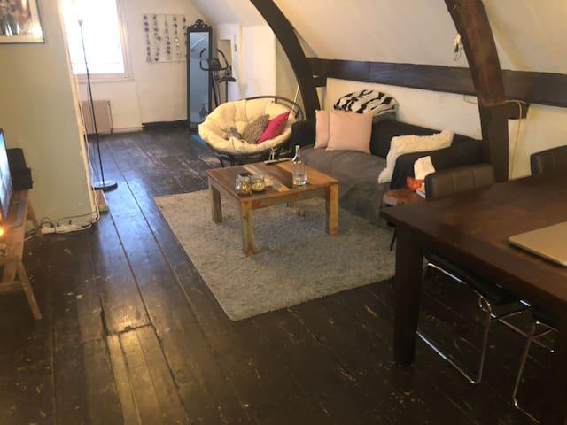 Cozy topfloor rooms