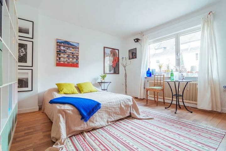 Atelierhaus mit ruhigem Zimmer #1 - Colonia - Casa