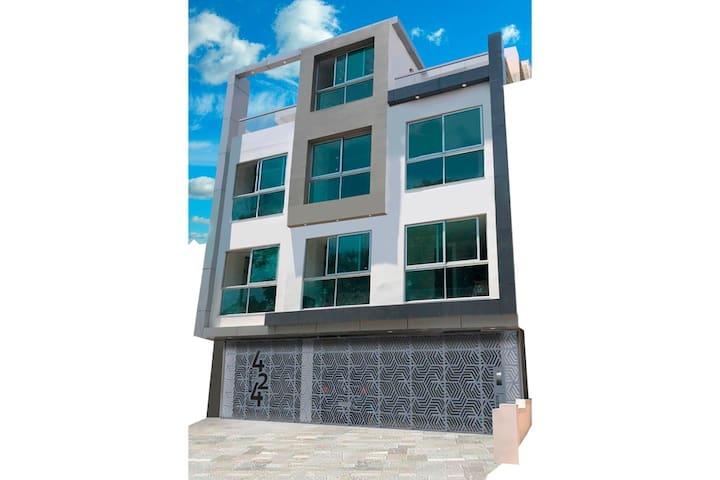 Apartamento 102 tipo loft - Amoblado