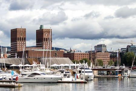 Sailboat at Aker Brygge - Oslo