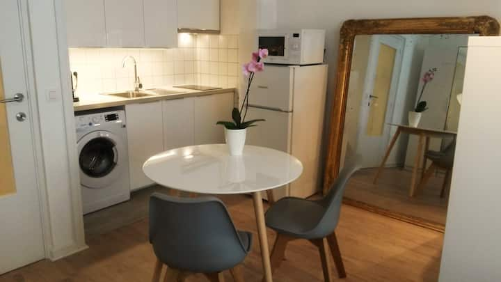 Chic studio in central Brussels
