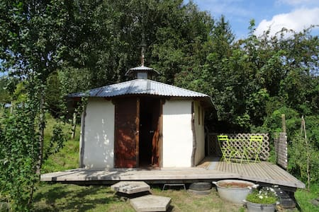 La cabane des glaneurs - Liège - Cabana
