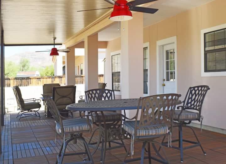 906 Rio Vista: An Upscale Condo in Lajitas Resort