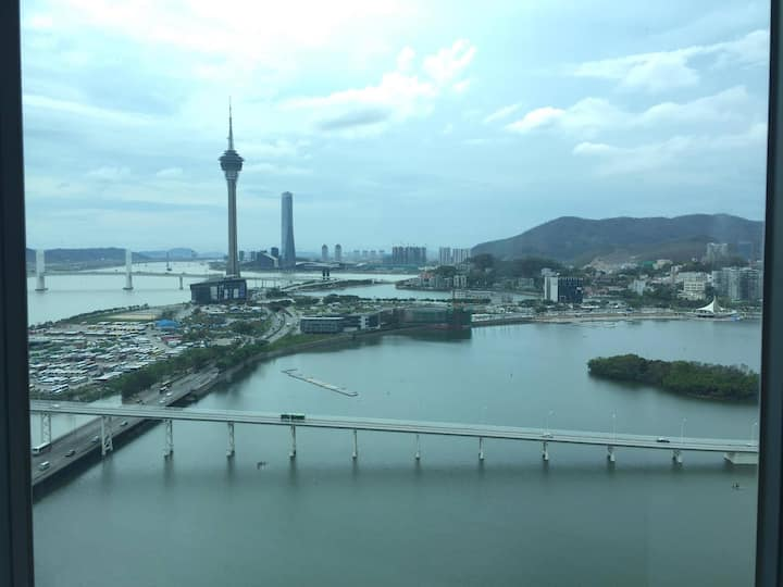 2Bed 2Bath Apartment in Macao with great view!