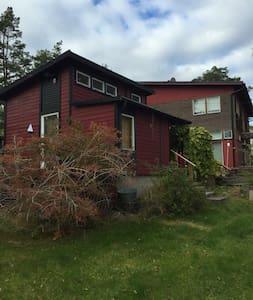 A nice cottage at Värmdö w kitchen - Värmdö - Chalet