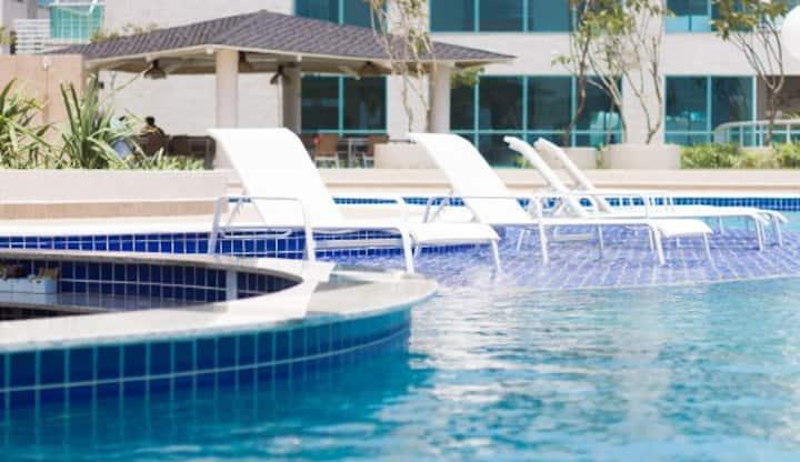 Resort em Salinas 5 pessoas (10° andar)