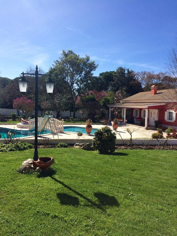 Casa Malva Rosa, campo, serra e mar...