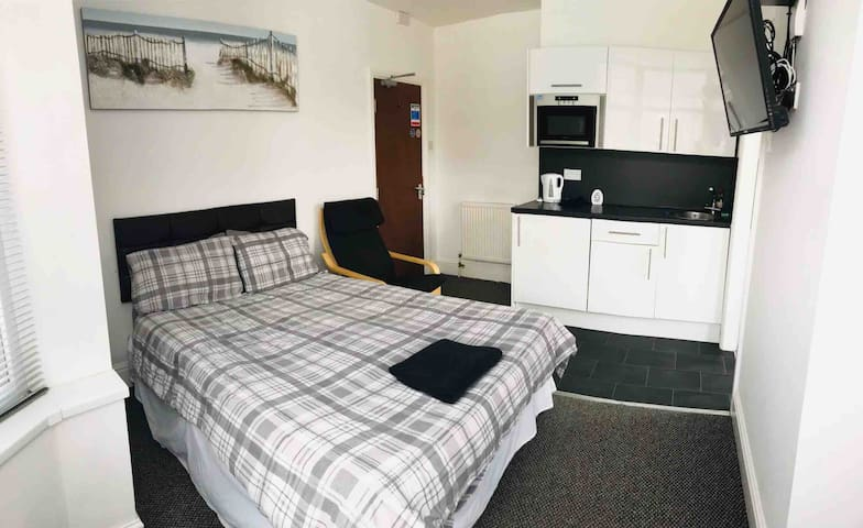 Double apartment from £35 per night
