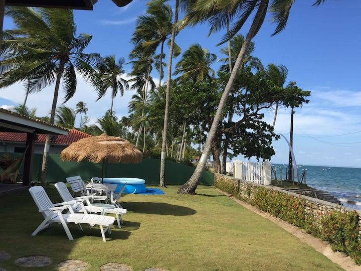 """Casa Praia """"Pé na Areia"""",em Ilha Itaparica/BAHIA."""