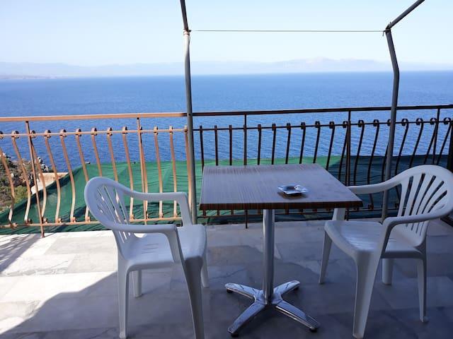 Τhe best view to the Laconian bay