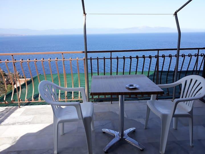 Τhe best view to the Laconian bay. Β&Β