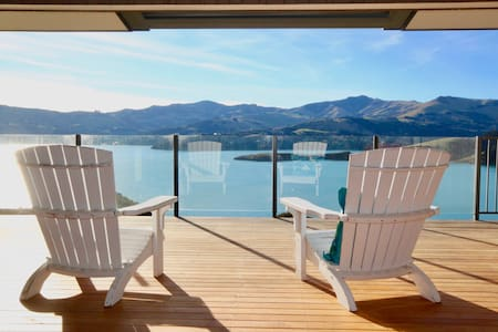 Sunvale - Stunning Akaroa Harbour Views!