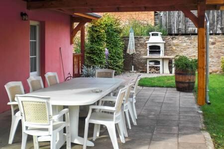 Cozy house 35km from Strasbourg - Stotzheim