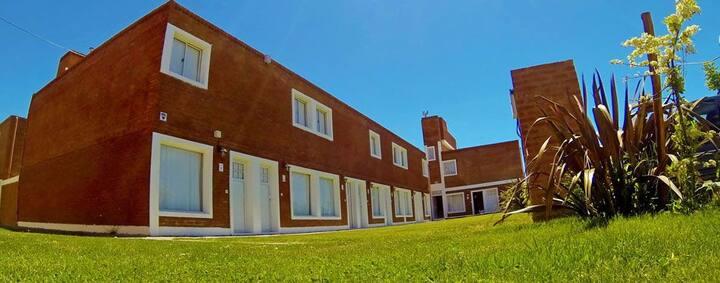 Cómodo departamento en Playa Unión-Chubut