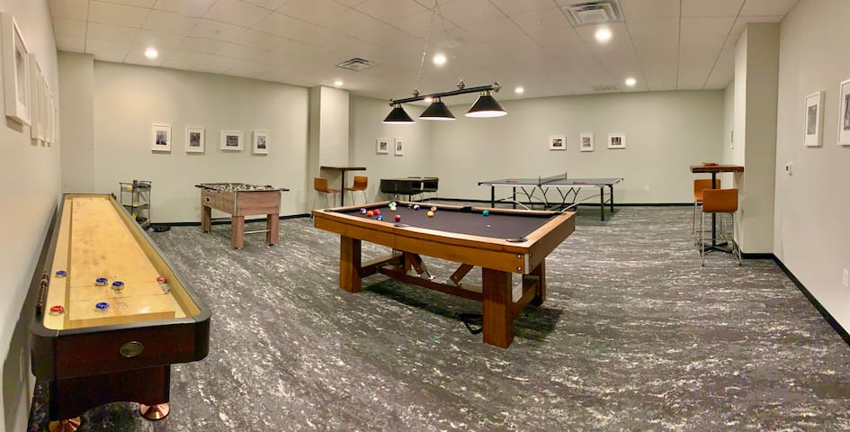 The Library: With Game Room, Gym, and Free Parking
